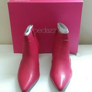 SHOEDAZZLE BOOTIES, SIZE 8-1/2""